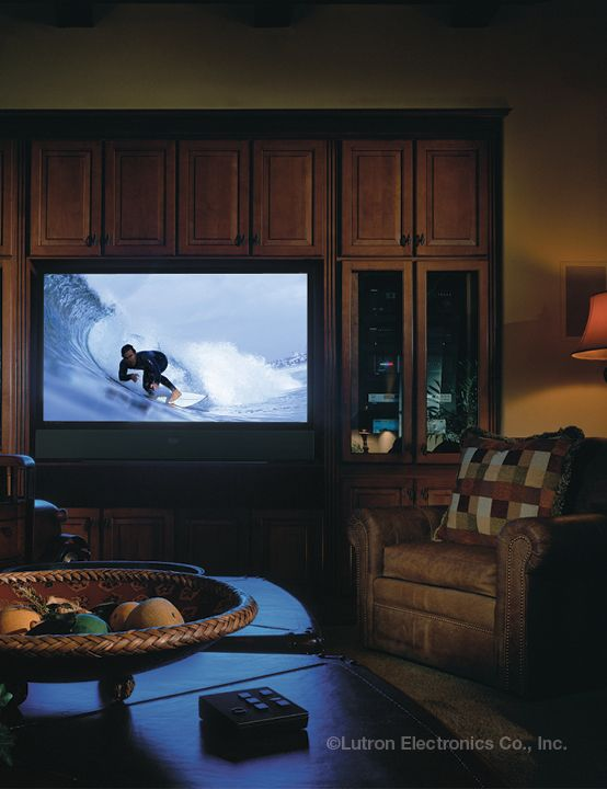 Dim Lights Creates The Perfect Ambiance For Tv Watching Http