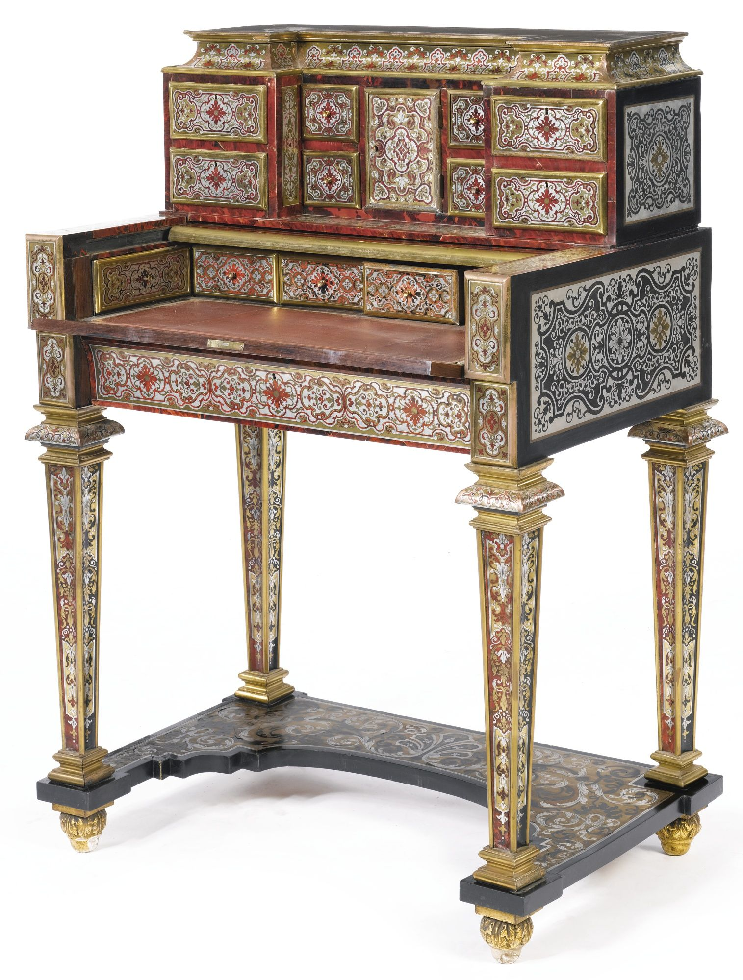 Muebles Estilo Barroco A Flemish Baroque Tortoiseshell Brass Copper And Pewter