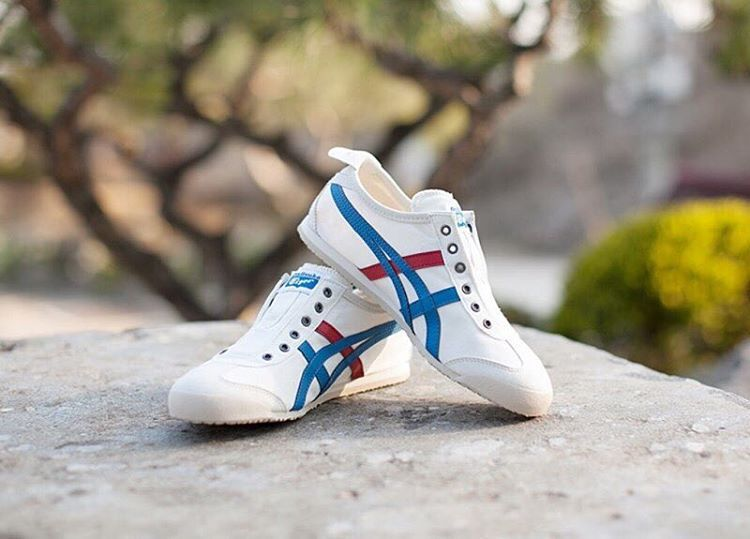 best sneakers 608fa b9400 Onitsuka Tiger Mexico 66 Slip-on: White/Tri Color | Footwear ...