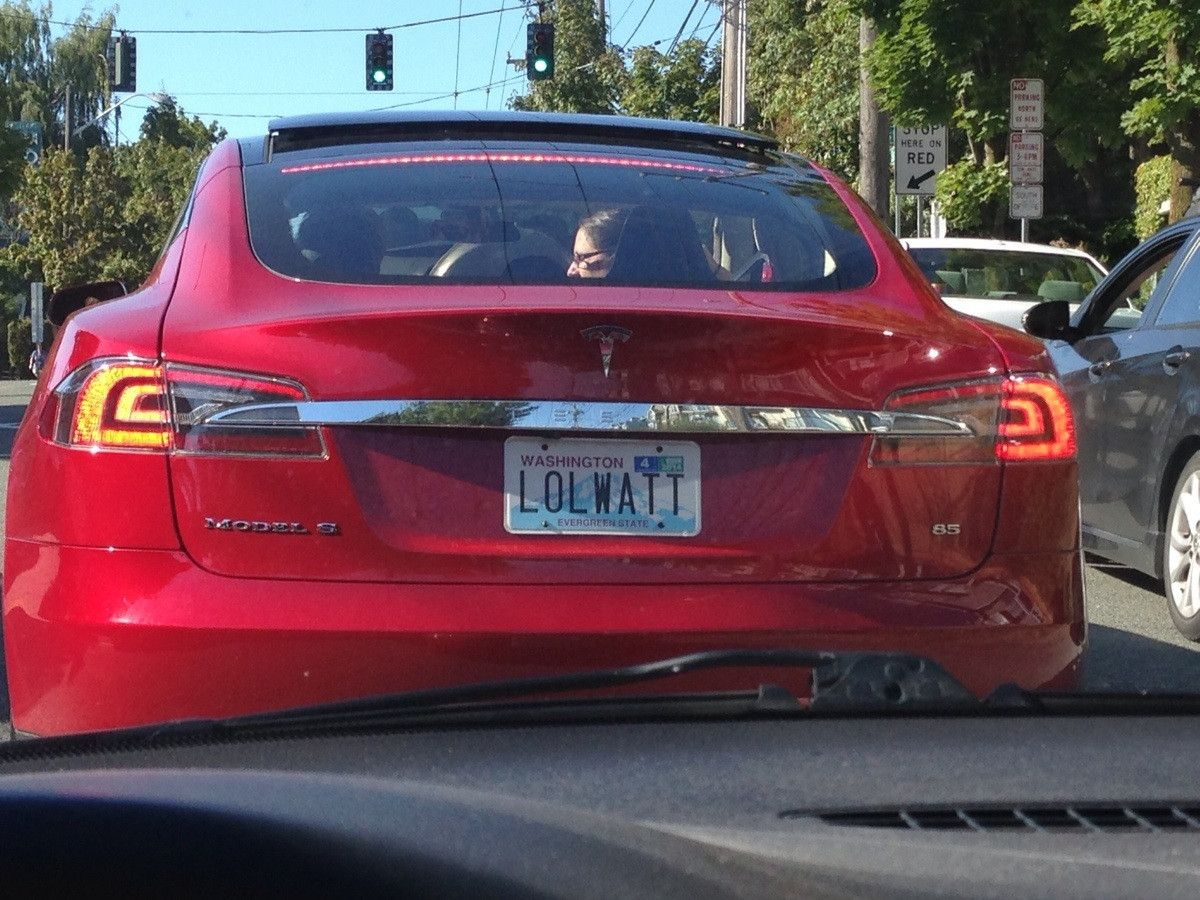 great tesla license plate or greatest tesla license plate