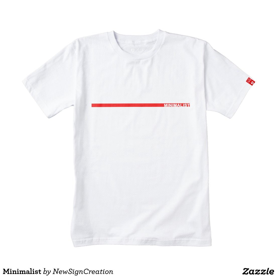 c63110187 Minimalist Zazzle HEART T-Shirt in 2018