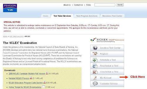 Neat trick to check NCLEX results within several hours after
