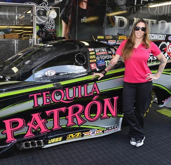 Alexis Dejoria Driver Of The 10 000 Horsepower Kalitta Motorsports