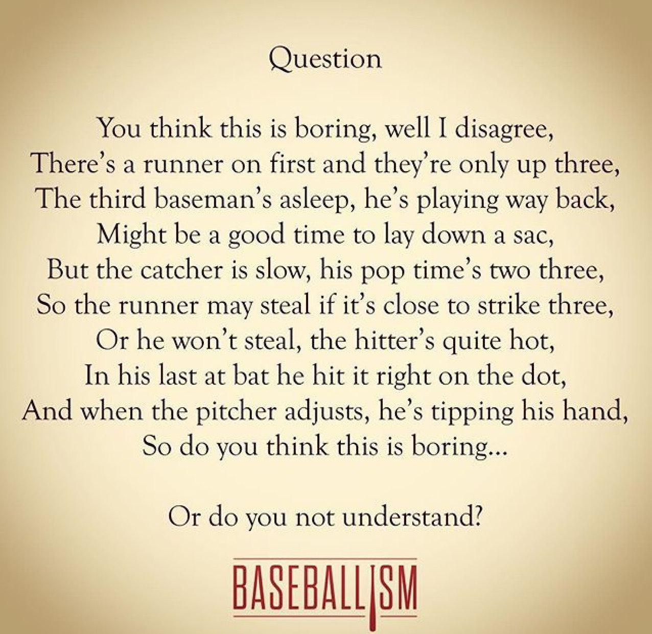 Baseball Is Anything But Boring If You Think It S Boring Then You Don T Understand The Game Love Baseball Baseball Quotes Baseball Uniforms Royals Baseball