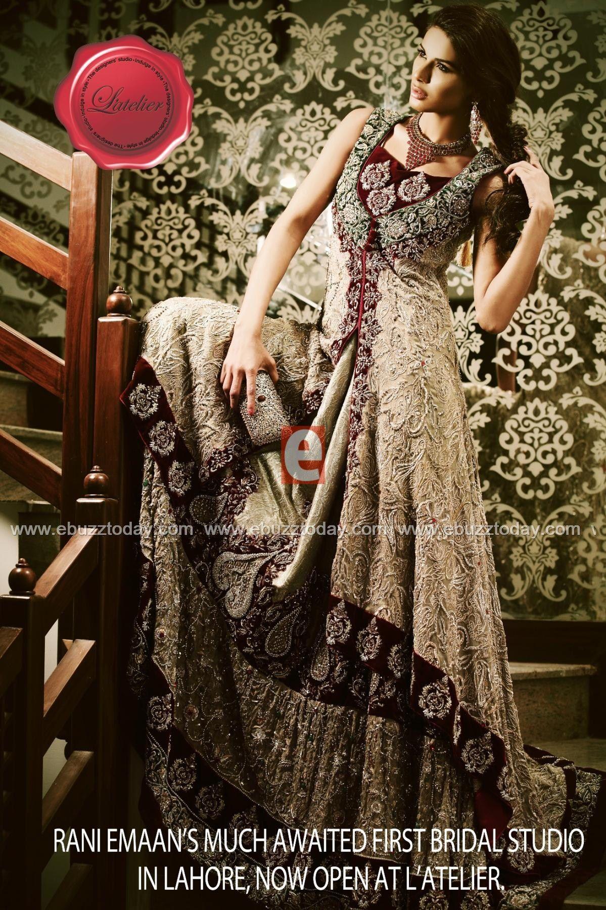 Rani Emaan Pinned By Zartashia Middle Eastern Fashion Designer Gowns Pakistani Fashion