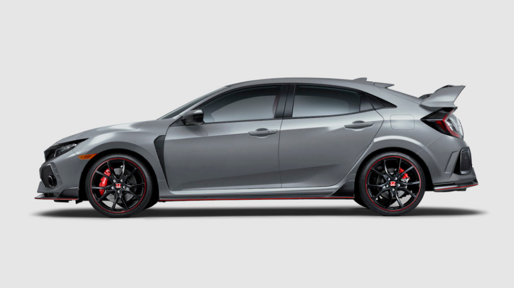 Honda Civic Line Updated For 2019 Type R Gets A New Color Honda Civic Type R Honda Civic Hatchback Honda Civic