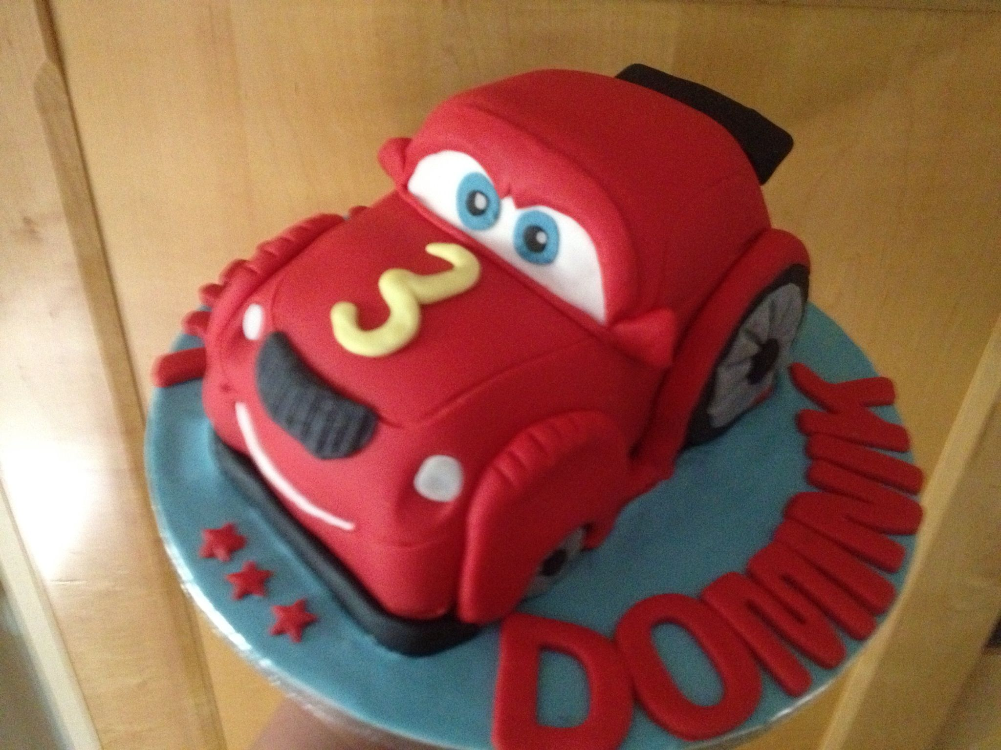Little Max the car cake.