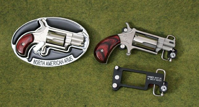 North American Arms Belt Buckles