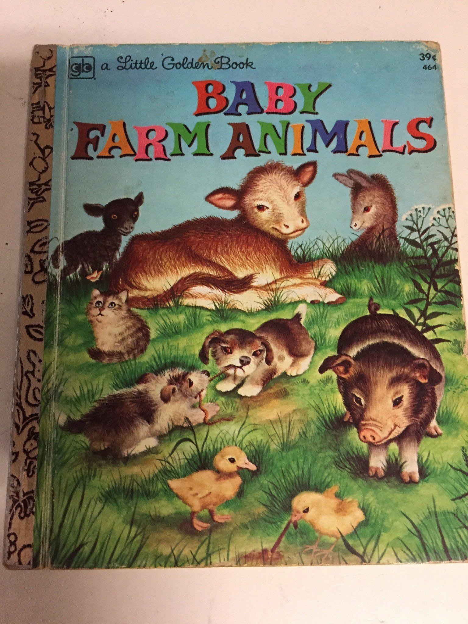 Baby farm animals baby farm animals little golden books