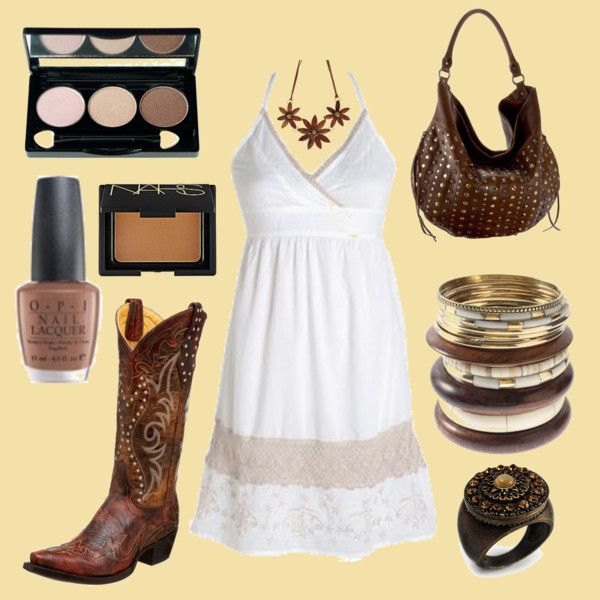 in perfect Cowgirl style ;)