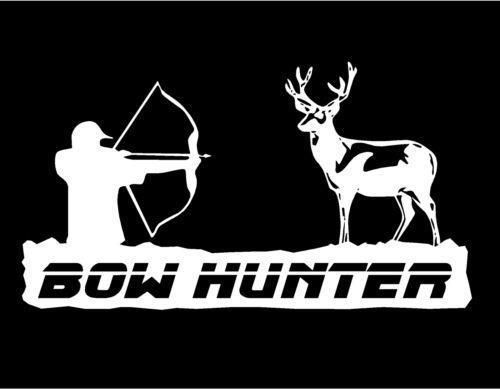 Bow Hunter Google Search Deer Hunting Silhouettes Vectors - Bow hunting decals for trucks