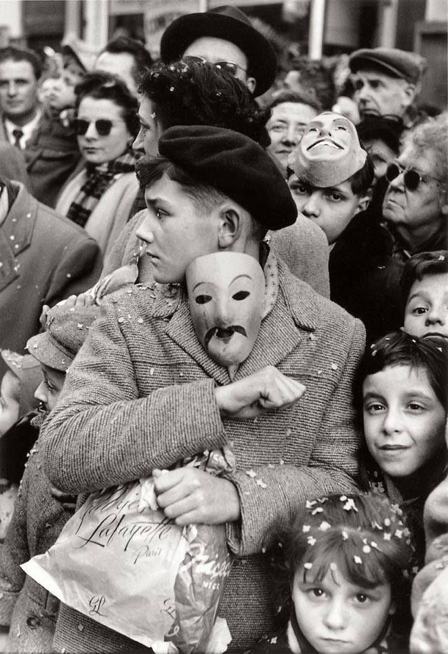 Carnaval de Nice 1956 (Izis Bidermanas)