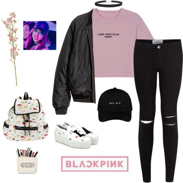 Ros Blackpink Inspired Outfit By Alientae On Polyvore Featuring Polyvore Style