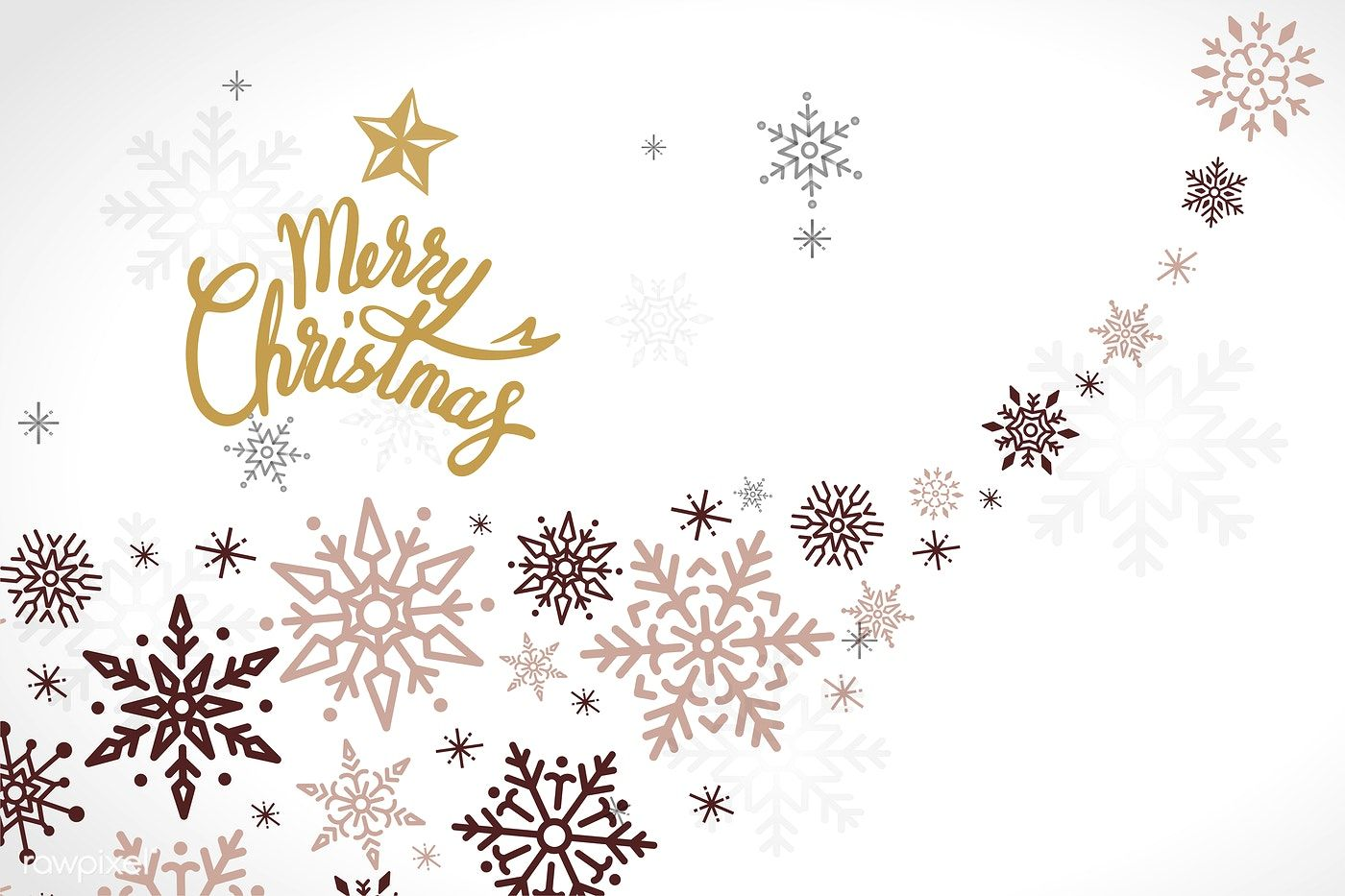 Merry Christmas Winter Holiday Background Vector Free Image By Rawpixel Com Merry Christmas Background Holiday Design Holiday Background