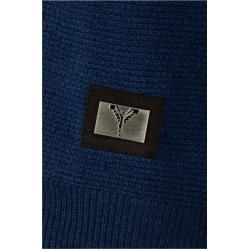 Photo of V-neck linen sweater, blue Carlo ColucciCarlo Colucci