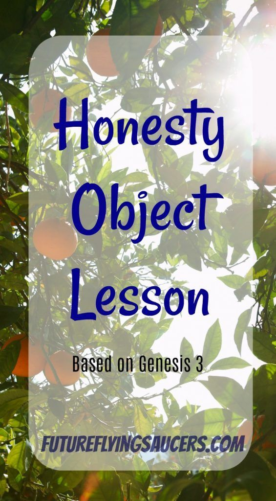 Honesty Object Lesson | Bible Study | Kids church lessons