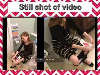 How to Change a Pad: Video Modeling for Girls (Autism Aspergers ...