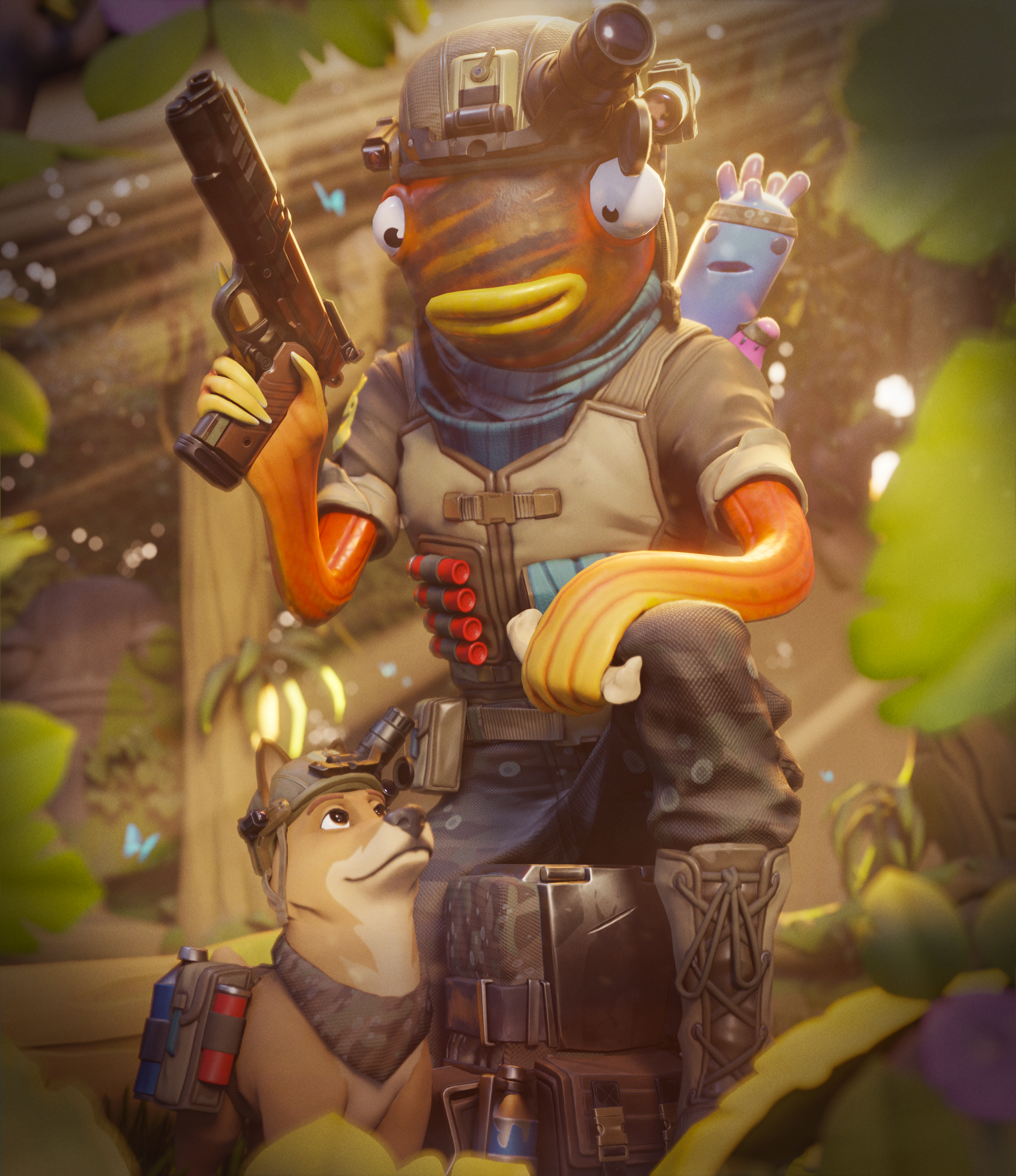 Fortnite Art Fanart In 2020 Gaming Wallpapers Best Gaming Wallpapers Gamer Pics