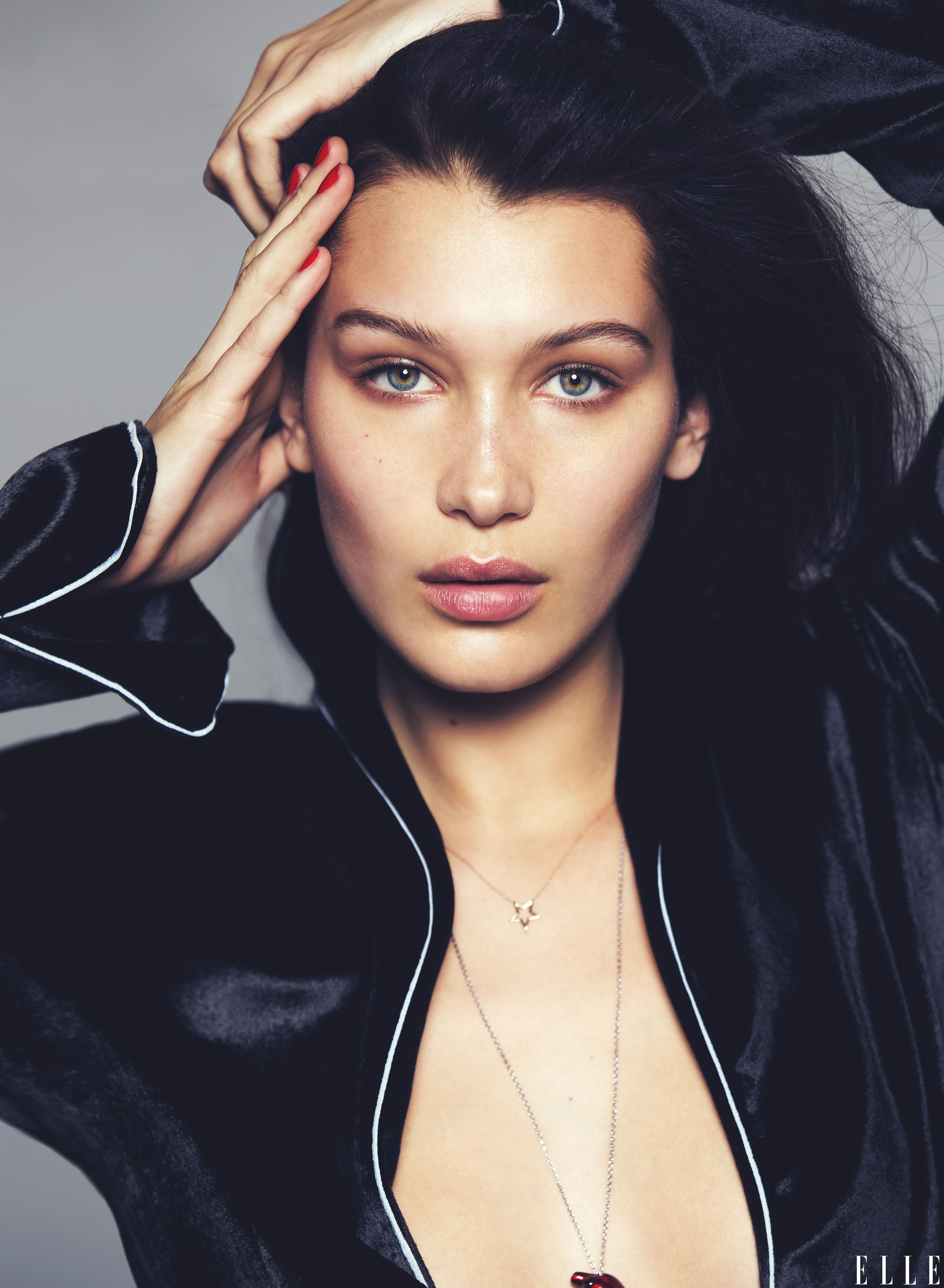 The 20-years-old American fashion model Bella Hadid