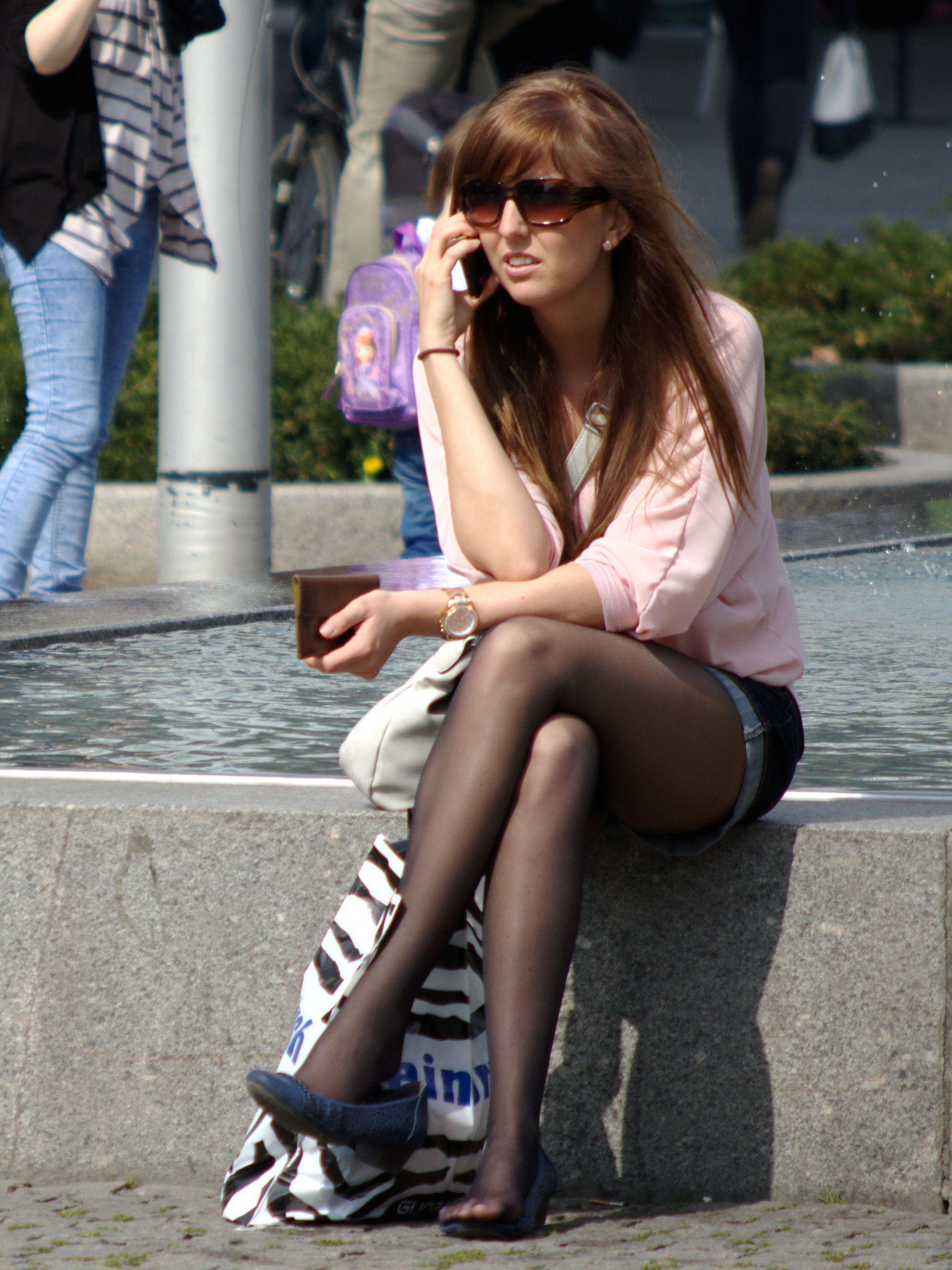 Girls With Legs | In pantyhose