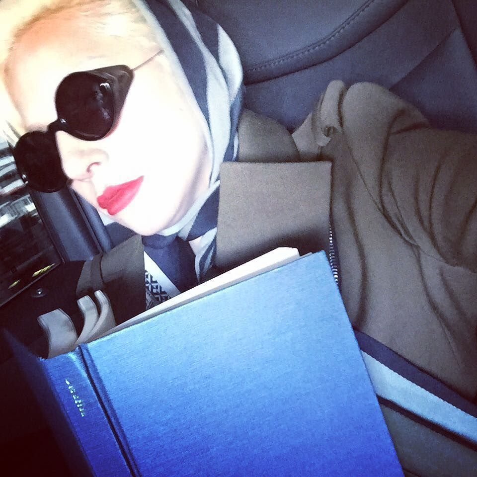 I think I could have read a thousand books today. by ladygaga