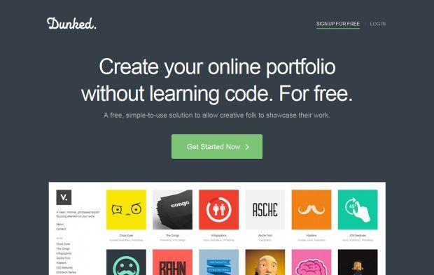 Create A Free Online Portfolio Website Dunked Webdesign Inspiration On Www Ni Online Portfolio Website Free Online Portfolio Website Web Design Inspiration
