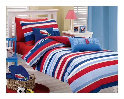 Boys Stripes Duvet Cover