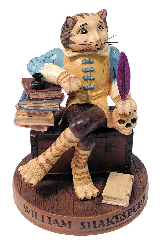 Ertl Collectibles Cat Hall Of Fame William Shakespurr Figurine 4