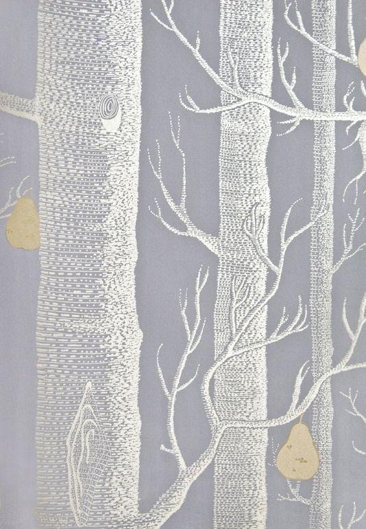 Woods Pears Wallpaper Grey Wallpaper Silver Grey Wallpaper Grey Pattern Wallpaper
