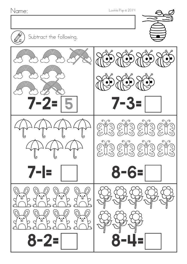 Spring Kindergarten Math And Literacy Worksheets Activit Actividades De Matematicas Preescolares Matematicas Para Jardin De Infantes Matematicas Preescolares Kindergarten spring math worksheets