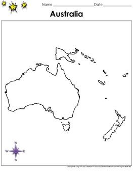 Australia map blank full page continent portrait king virtue gumiabroncs Gallery