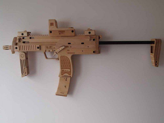 wooden replica gun | GUNS | Replica guns, Guns, Wood