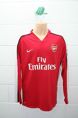 Vintage nike #arsenal home #shirt #football footie gunners trikot 2008-10 l/s xxl,  View more on the LINK: 	http://www.zeppy.io/product/gb/2/400824271950/