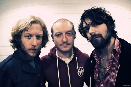 James, Simon and Ben from Biffy Clyro