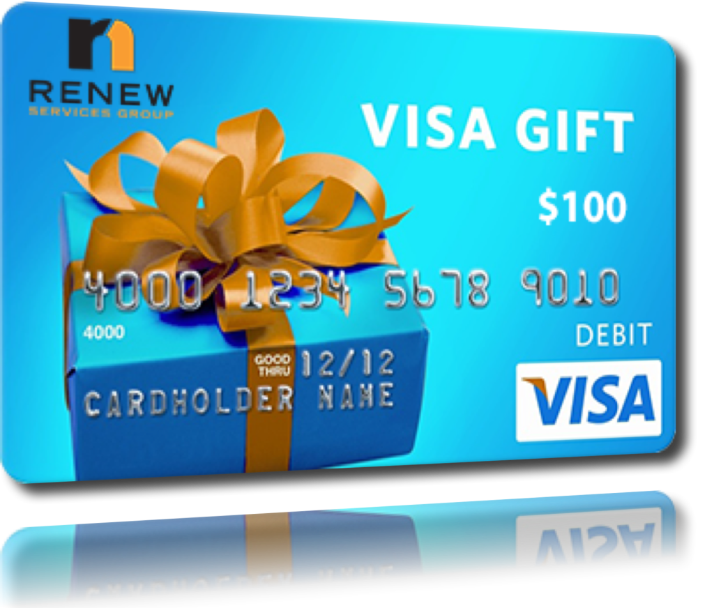 how to get a free $100 visa card