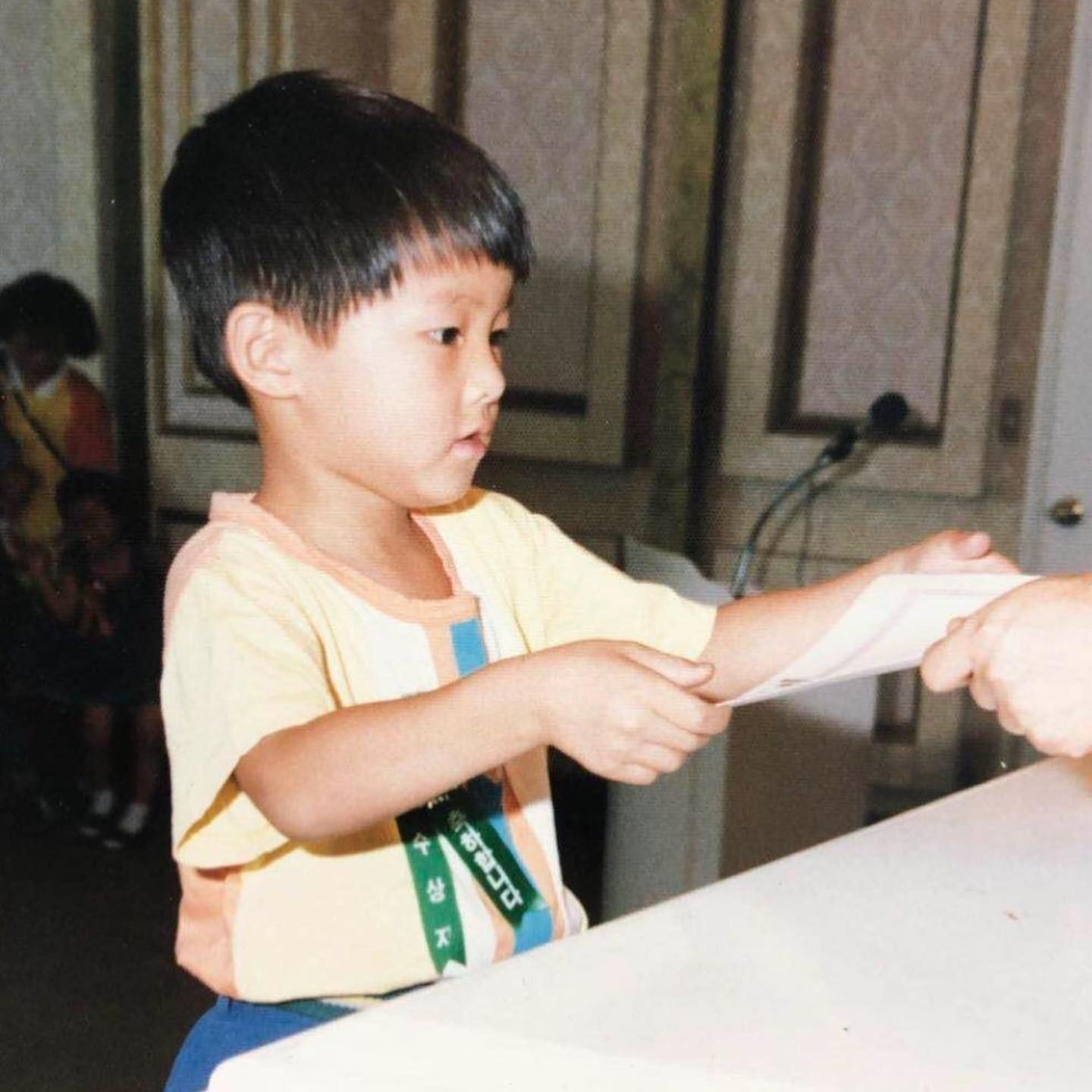 """Vincenzo"" Actor Song Joong Ki Shares Childhood Picture"