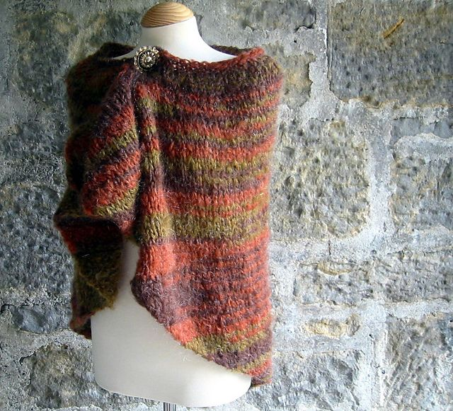 Free Pattern: Autumn Comfort Prayer Shawl | crochet y tejido ...