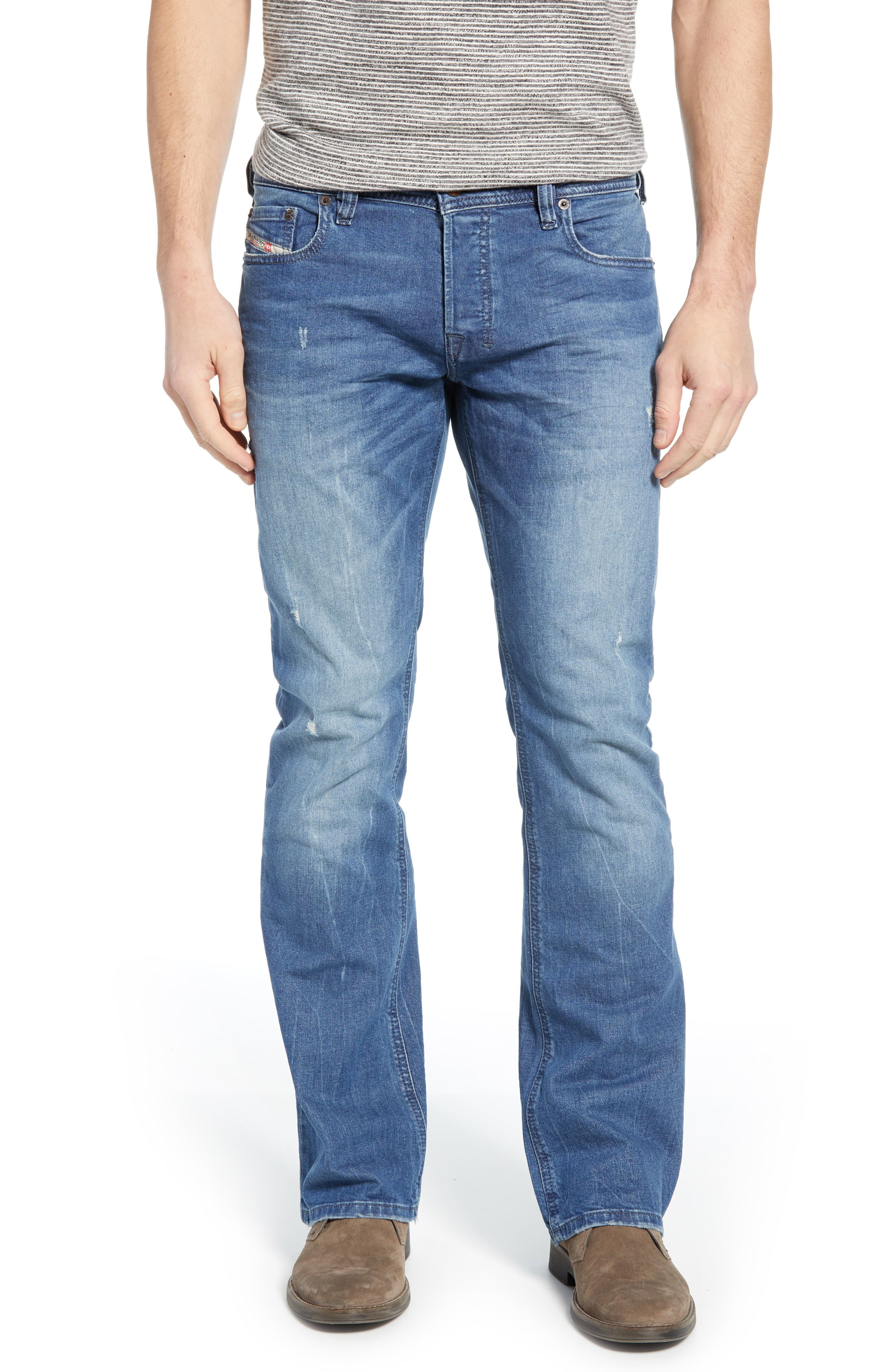 Diesel Zatiny Bootcut Jeans C84ky Mens Clothing Styles Diesel Zatiny Skinny Fit Jeans