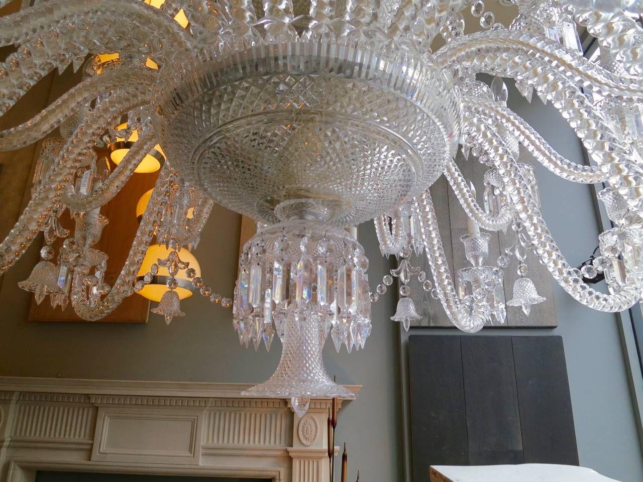 Large Thirty Six Arm Baccarat Zenith Chandelier Designed By Philippe Starck 10