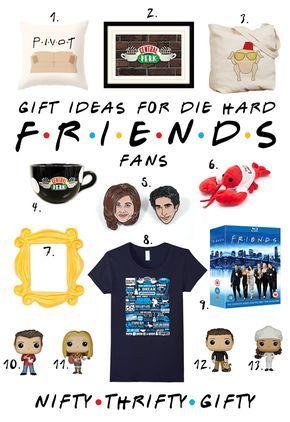 Friends Tv Show Gifts Fandom Gifts Fandom Gift Ideas