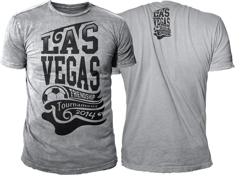 Las Vegas Soccer Tournament Logo Contest Clothing or apparel design ...