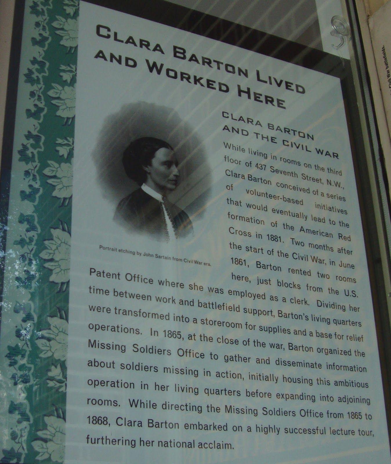 Clara Barton****