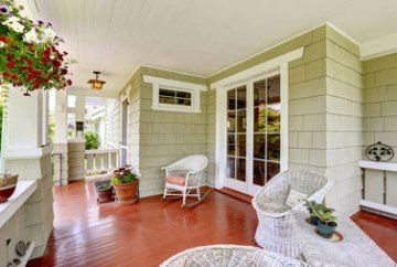 Home Design: Front to Back Porches!