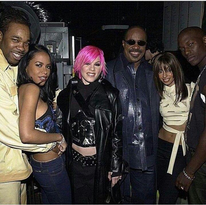 Busta Rhymes Aaliyah Stevie Wonder Pink Mya And Tyrese 90s
