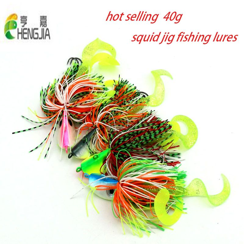 New Octopus Squid Jig Fishing Lures Tackle Explosive Hooks Sea Saltwater Bait