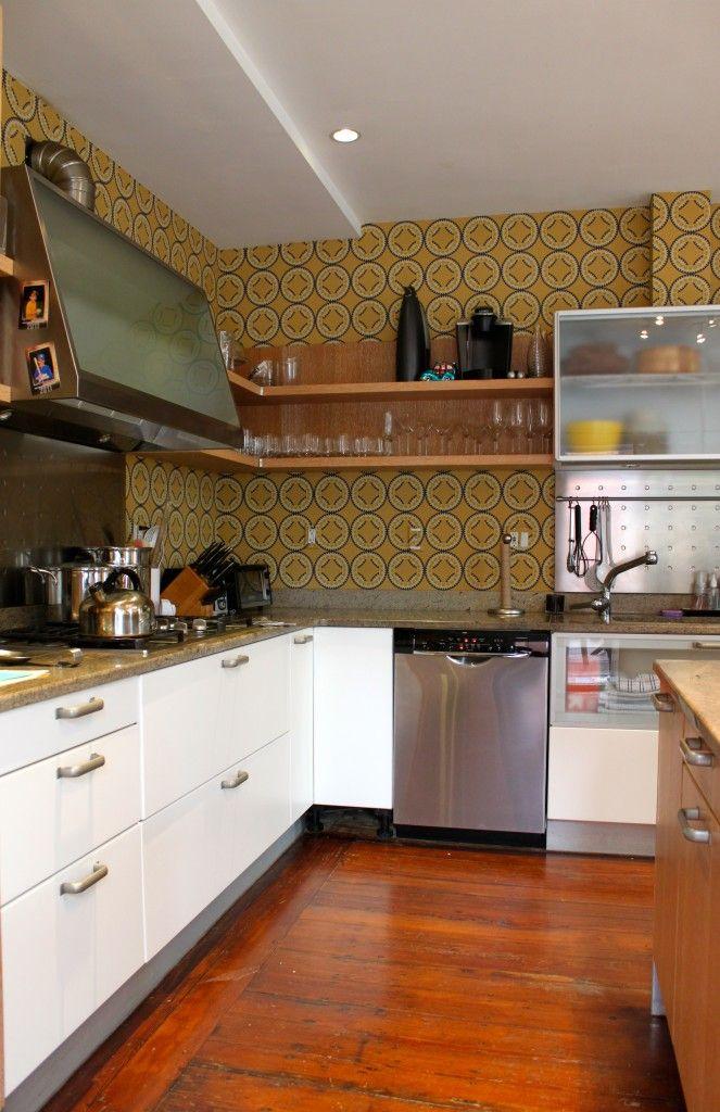 Niesha Crosland: Moorish Circles Wallpaper In Kitchen: Cocoon Home Design