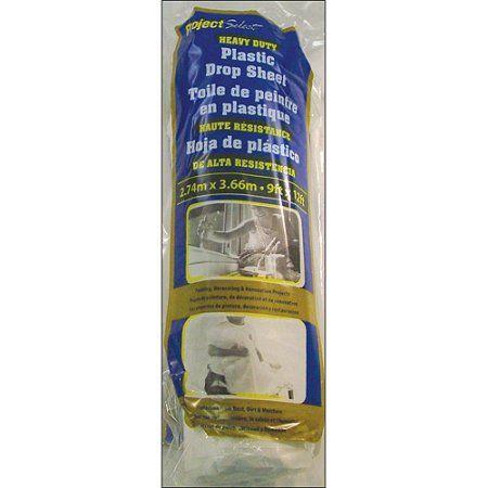 Home Improvement Plastic Drop Cloth Artist Supplies Painting Tools