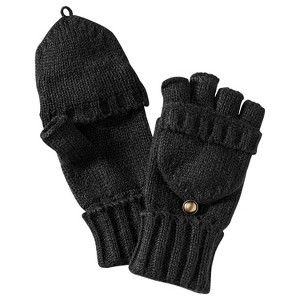 Merona® Fliptop Gloves - Black : Target Mobile