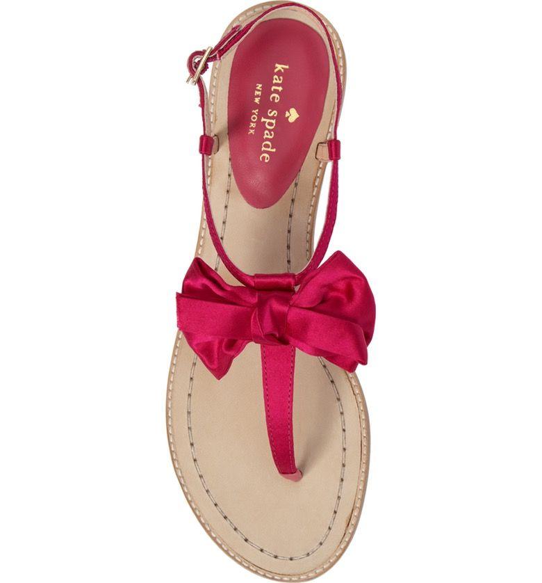 7452025056a71 Main Image - kate spade new york serrano bow sandal (Women)