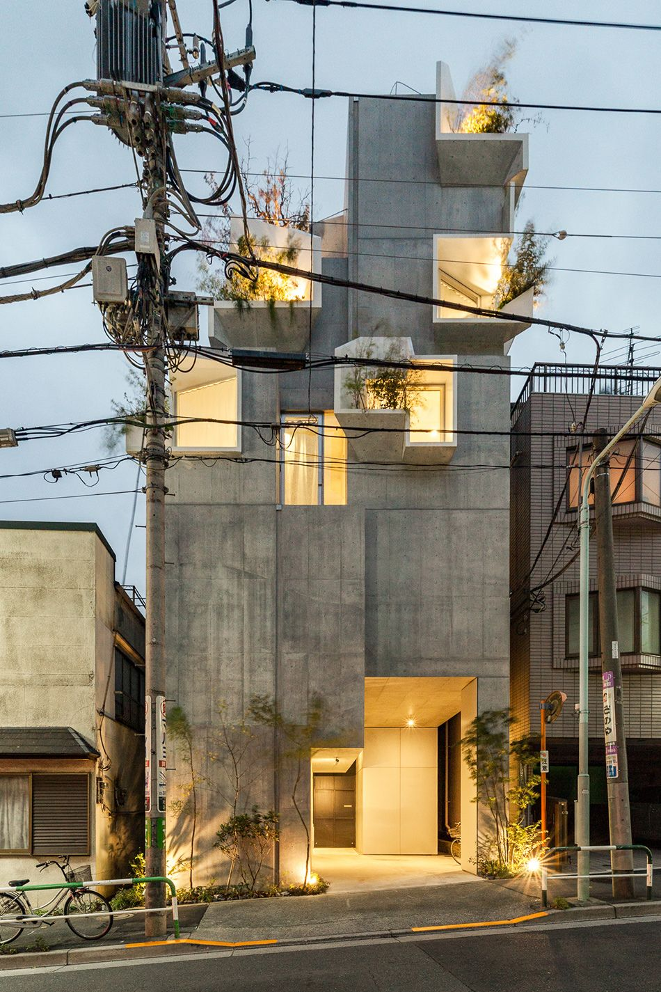 akihisa hirata completes 'treeness house' in tokyo is part of architecture House Nature Glasses - architecture House Nature Glasses